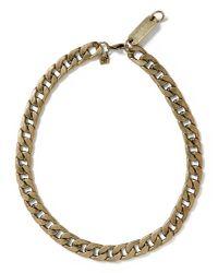 Banana Republic | Metallic Curb Chain Necklace | Lyst
