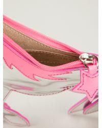 Sophia Webster Pink Unicorn Clutch