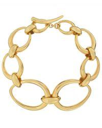 Dinny Hall - Metallic Gold Vermeil Toro Link Bracelet - Lyst