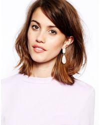 ALDO - Pink Montraie Two Drop Earring - Lyst