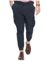Polo Ralph Lauren Black Big And Tall Classic-fit Utility Pant for men