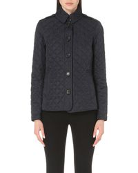 Burberry - Black Ashurst Quilted Shell Jacket - Lyst