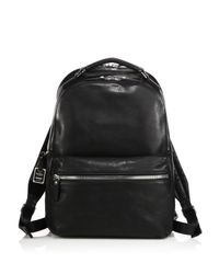 Shinola   Black Runwell Leather Backpack for Men   Lyst