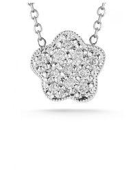 Dana Rebecca Rima Naya Mini Necklace In White Gold