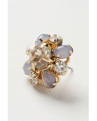 Anthropologie - Metallic Clarkia Earrings - Lyst