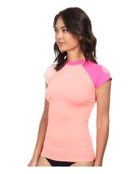 Rip Curl | Pink Surf Session Cap Sleeve | Lyst