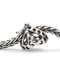 Trollbeads | Metallic Dancing Butterfly Charm | Lyst