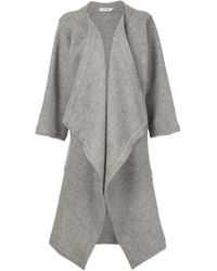 Shaina Mote - Gray 'lou' Cardi Coat - Lyst