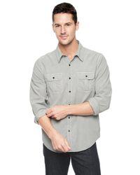 Splendid Metallic Corduroy Shirt for men