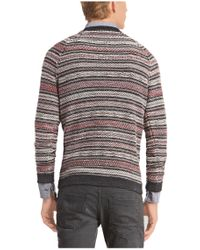 BOSS Orange - Blue 'arentino' | Cotton Virgin Wool Blend Sweater for Men - Lyst