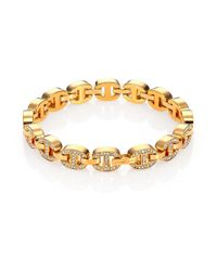 Michael Kors | Metallic Heritage Maritime Chain Tennis Bracelet | Lyst