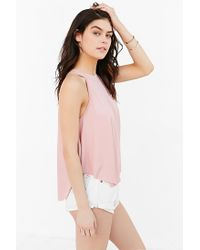Kimchi Blue Pink Florence Tank Top