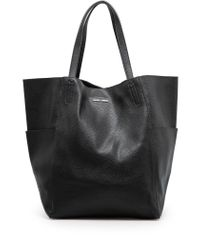 Mango Black Shopper Bag