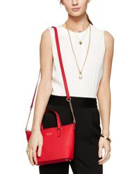 kate spade new york | Red Maise Satchel | Lyst