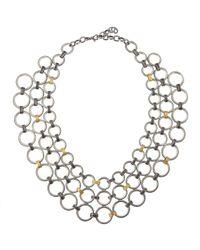 Gurhan | Metallic Hoopla Multistrand Necklace | Lyst