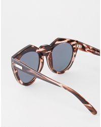 Le Specs - Black Exclusive Neo Noir Pastel Mirror Sunglasses - Lyst