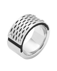 DIESEL - Metallic Ring Dx0846 for Men - Lyst