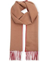Sportmax - Brown Stampa Cashmere Scarf - For Women - Lyst