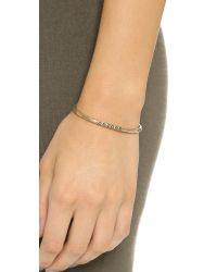 Pascale Monvoisin | Metallic Colette Bracelet - Turquoise/gold | Lyst