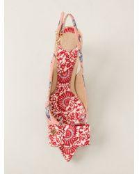 Tory Burch Pink Aimee Sling Back Sandal