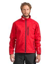 Helly Hansen | Red Crew Midlayer Jacket for Men | Lyst