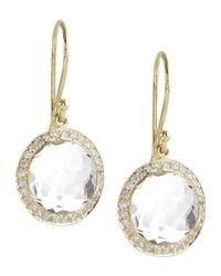 Ippolita   Metallic Mini Lollipop Diamond Earrings   Lyst