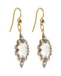 Cathy Waterman | Metallic Women's Arabesque Earrings | Lyst