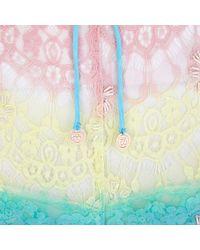 River Island Pink Pacha Rainbow Lace Shorts