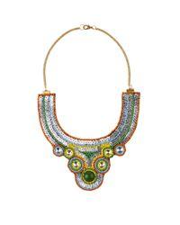 AKIRA - Metallic Sardar Necklace - Lyst