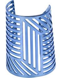 Pierre Hardy | Blue Grid Cuff | Lyst