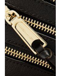Rebecca Minkoff - Black 3 Zip Leather Wallet - Lyst