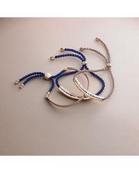 Monica Vinader   Natural Esencia Scatter Friendship Bracelet   Lyst