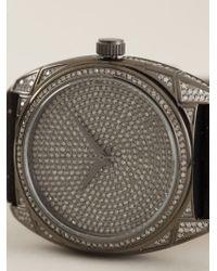 Christian Koban Black 'dom' Diamond Watch