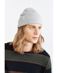 Herschel Supply Co. Gray Rossland Jersey Beanie for men