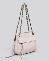 Rebecca Minkoff White Shoulder Bag Swing