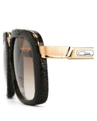 Cazal | Brown Square Frame Gradient Sunglasses | Lyst
