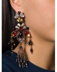 DSquared²   Multicolor Flower Earrings   Lyst