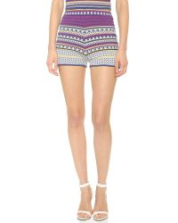 Ronny Kobo Multicolor Maitai Tribe Shorts - Multi