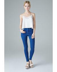 Forever 21 | Blue The Fairfax High Rise Jean | Lyst