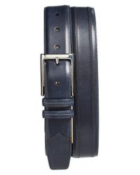 Mezlan | Blue Leather Belt for Men | Lyst