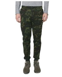 Nike - Green Camouflage Trousers for Men - Lyst