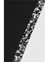 Elizabeth and James Black Bradshaw Piqué Skirt