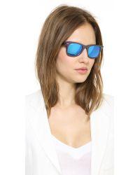 Ray-Ban Purple Cosmo Saturn Sunglasses - Metallic Pink