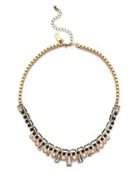kate spade new york | Metallic 'clink Of Ice' Collar Necklace | Lyst