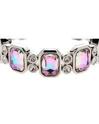 Monet - Multicolor Vitrail Crystal Stretch Bracelet - Lyst