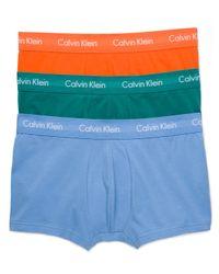 Calvin Klein - Blue Men's Classic Boxer Briefs 3-pack for Men - Lyst