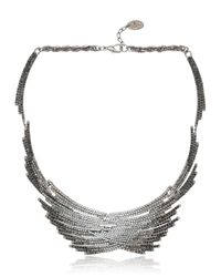 Joanna Laura Constantine - Black Flutter Collection Necklace - Lyst