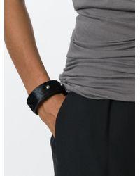 Rick Owens | Black Studded Bracelet | Lyst