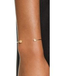 Tai | Metallic Dual Stone Bracelet - Cat's Eye | Lyst