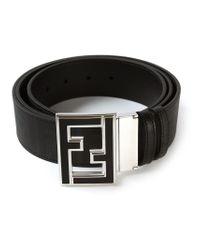 Fendi - Black 'college' Belt for Men - Lyst